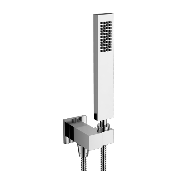 Hand Shower with Adjustable Bracket and Outlet