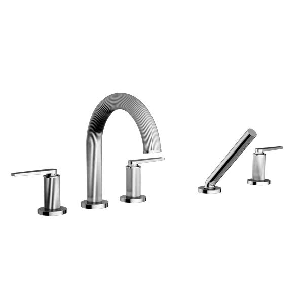 TRIM – Roman Tub Filler with Hand Shower