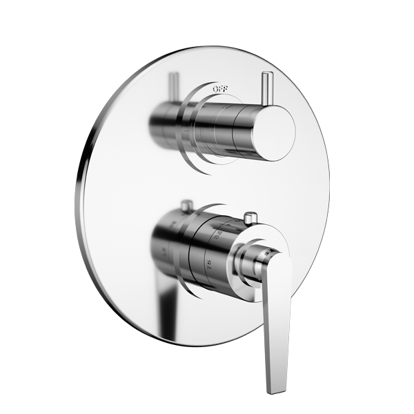 TRIM (Shared function) – 1/2″ Thermostatic Trim with 2-Way Diverter